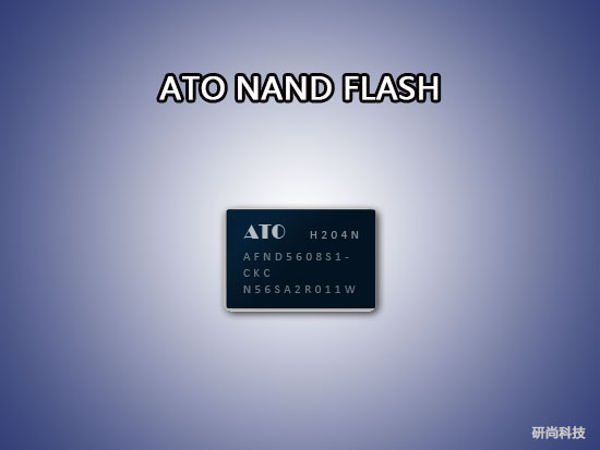 ATO NAND FLASH:AFND5608S1(图1)